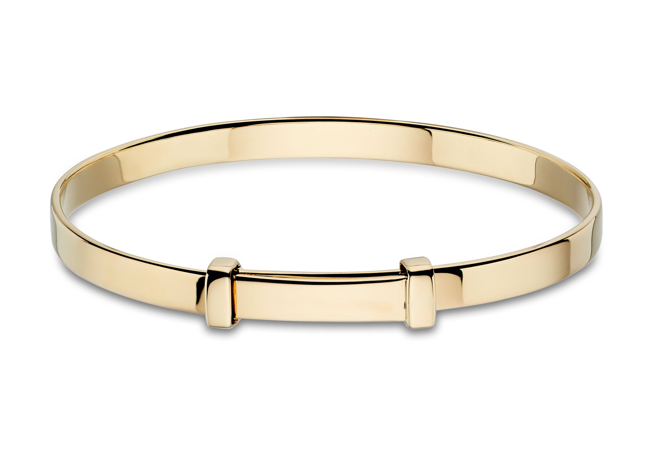 Flores Gold Plated Baby Bangle-Carats Jewellers